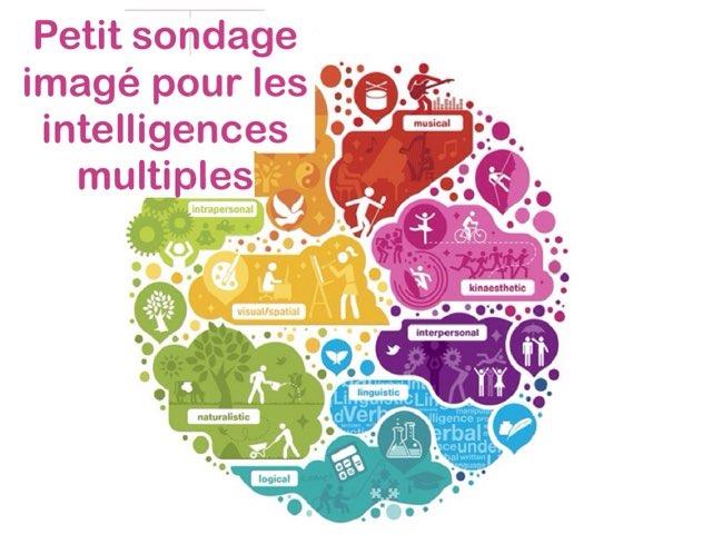 Petit Sondage Imagé Pour Les Intelligences Multiples by Alice Turpin
