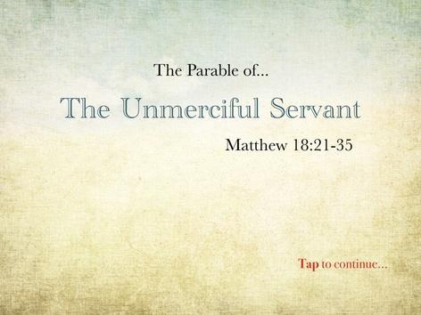 CCLC: Unmerciful Servant by Drew Kunkel