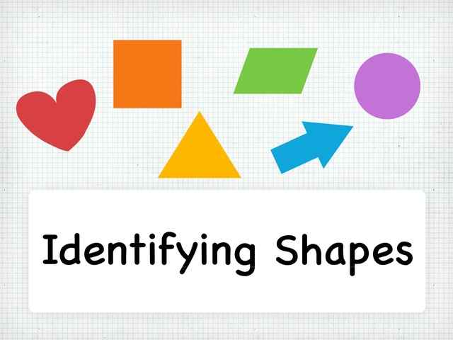 Identifying Shapes by TinyTap creator
