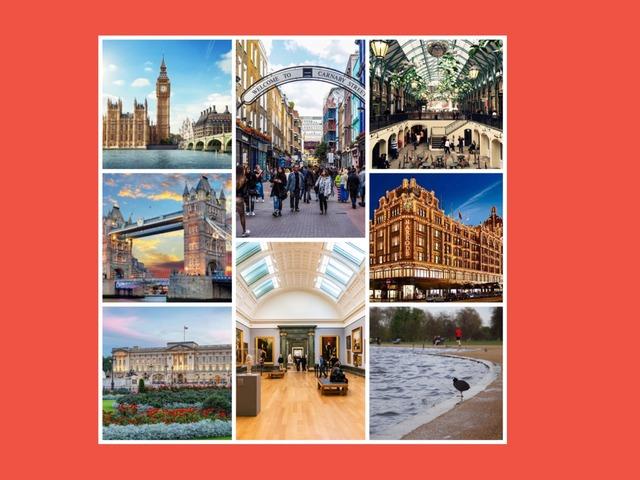 LONDON LANDMARKS  by Adelina Garcia Naveiro
