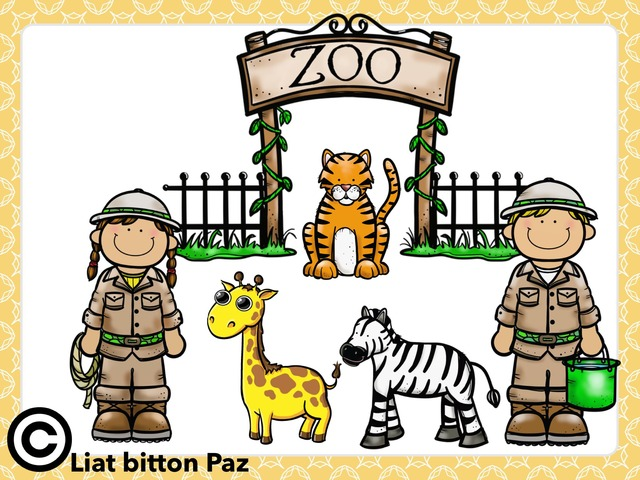 The Zoo Animal Puzzle  by Liat Bitton-paz