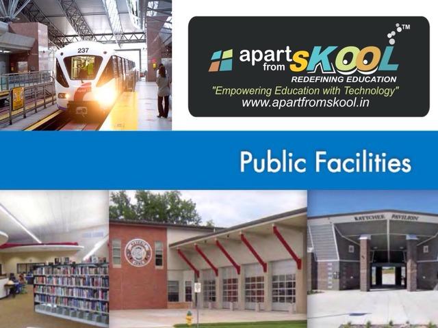 Public Facilities by TinyTap creator