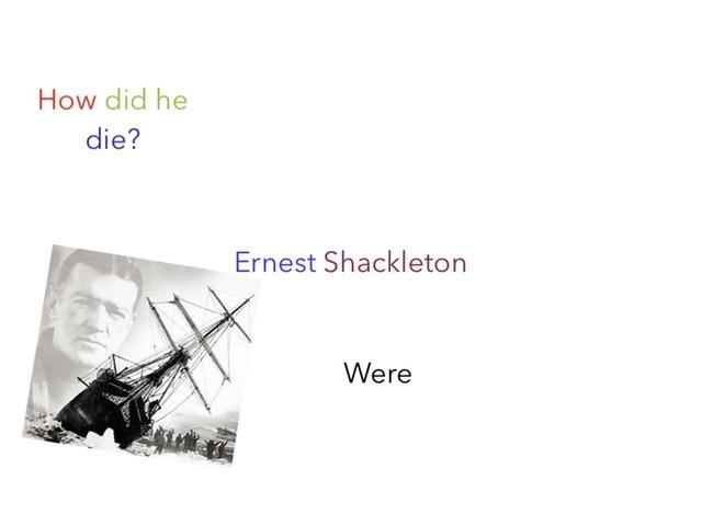Ernest  Shackleton by Birdwell Year2