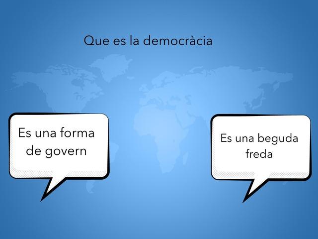 La democràcia  by GIMENO LLOPIS PAU