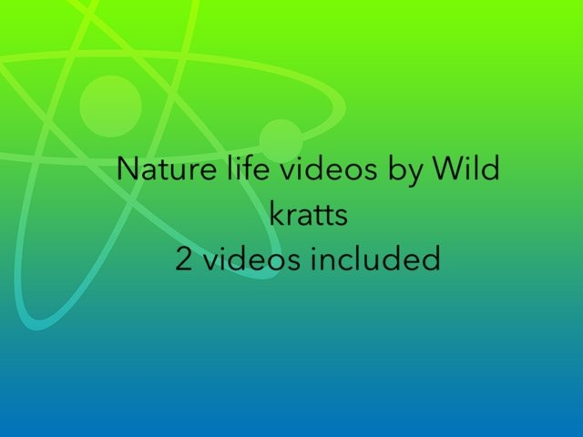 Wild Kratts Video Package Free by Flora Silver