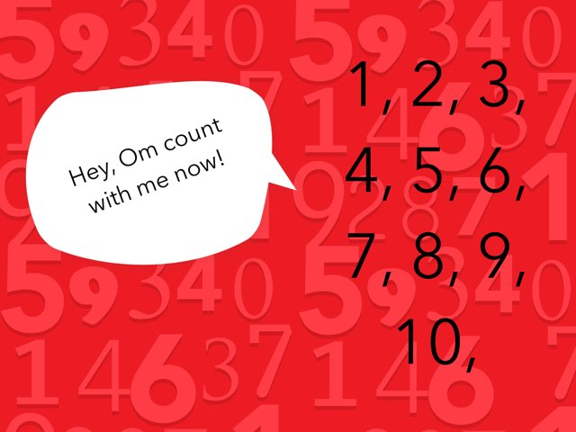 Counting 1-10 by Om Patel