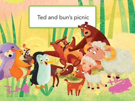 Ted And Buns Picnic  by Mayra Vega