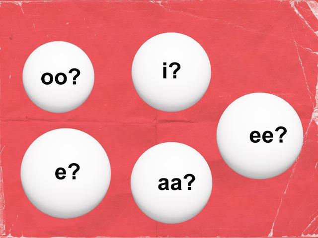 Oo? Aa? Ee? I? E? by Elke Laenen