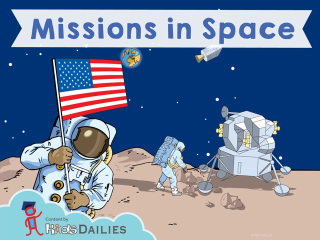 Missions In Space  by Kids Dailies