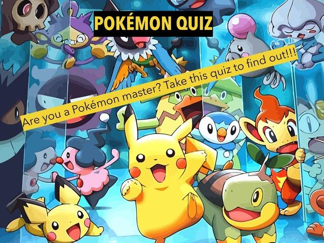 Pokémon Quiz  by Christos ALEXANDRA
