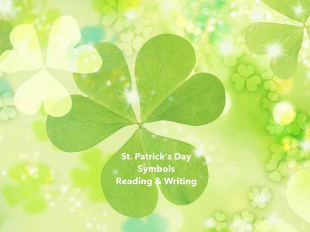 St. Patrick's Day Symbols - Reading & Writing by Teeny Tiny TEFL