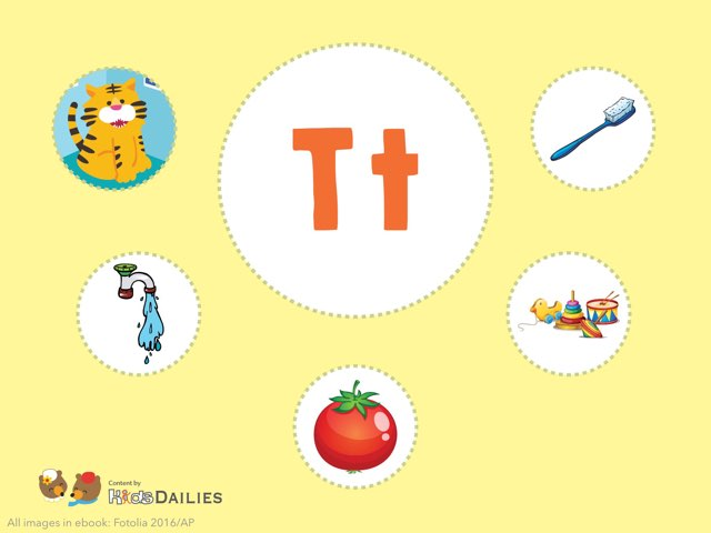 Tt  by Kids Dailies