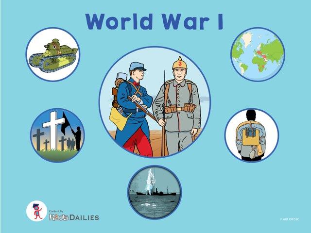 World War I by Kids Dailies