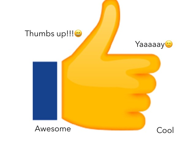 Thumbs Up by Theresa Fournier
