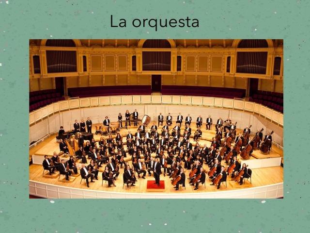Juego musical #orquesta #instrumentos #texturas by Loreto Petit