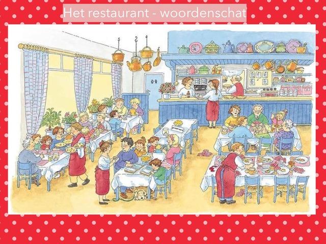 Restaurant Woordenschat by Suzanne Steenbergen