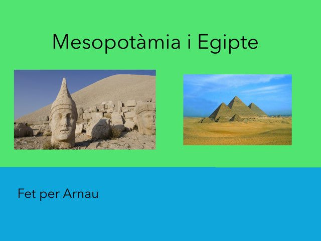 Mesopotàmia I Egipte by Arnau Álvarez Guerra