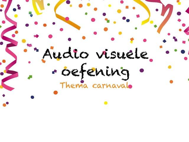 Audio Visuele Oefening by Juf kim Giraf