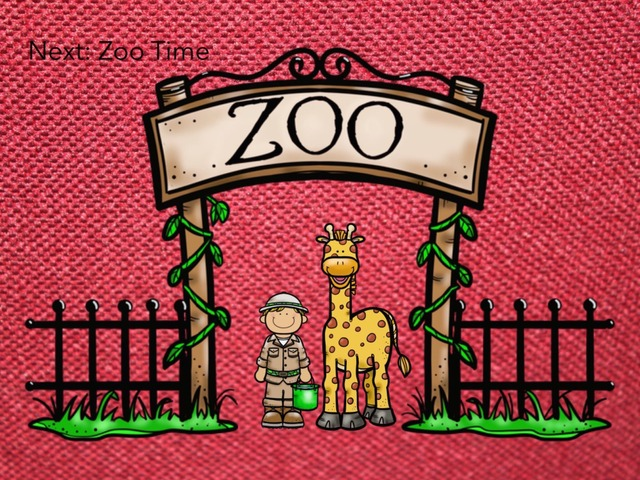 Next: Zoo Time (patterns) by Carol Smith