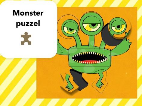 Monster Puzzel by Mr. Puzzlez