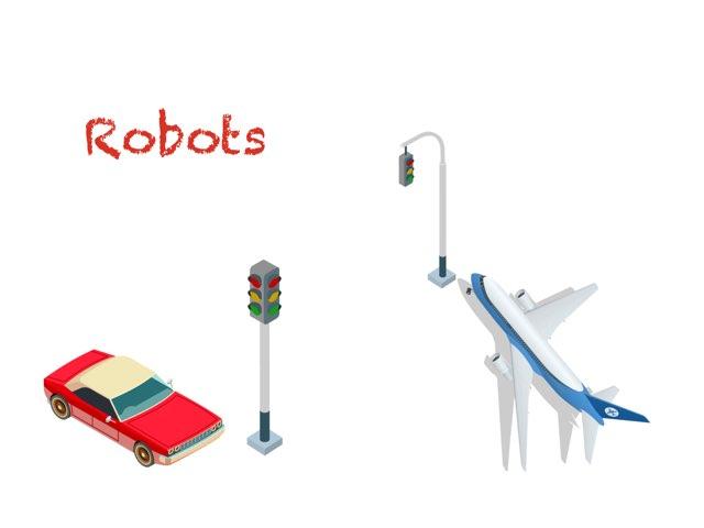 Robots by cris Puga