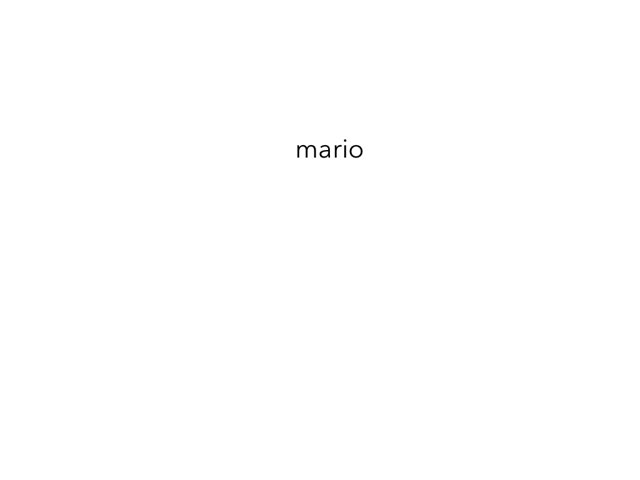 Marks mario by mark zoetemeijer