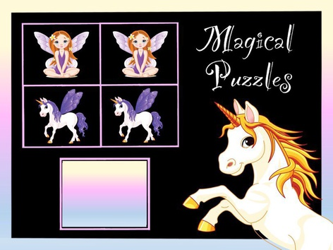 Magical Puzzles by Cici Lampe