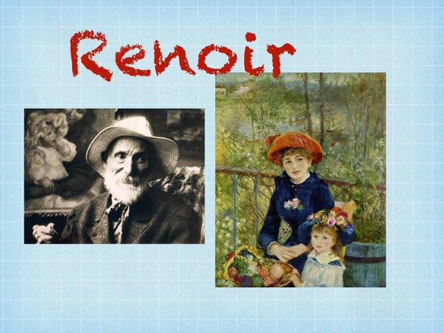 Renoir by Isabelle Guay
