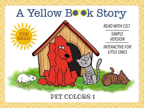 Yellow Book - Colors 1 (With CiCi) by Cici Lampe