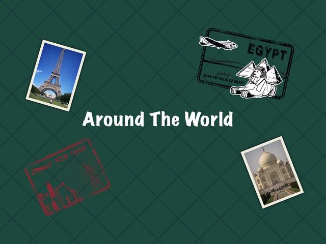 Around The World by Abeer Alghamdi