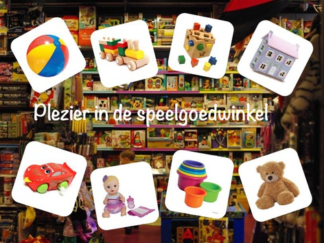 Plezier In De Speelgoedwinkel by Catherine Davies