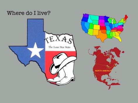 Where Do I Live? Texas by Carol Smith