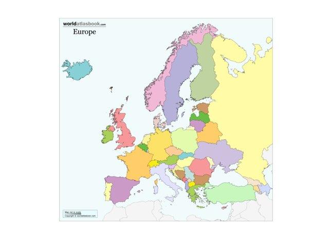 Europas Länder by Maria Rubesved