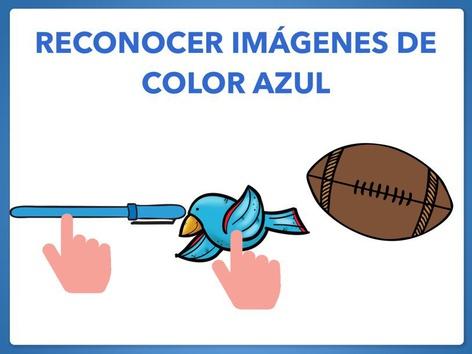 RECONOCER IMÁGENES DE COLOR AZUL. by Jose Sanchez Ureña