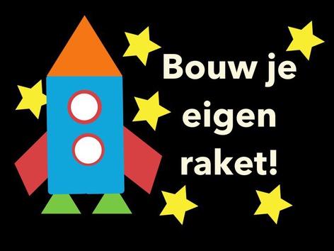 Bouw je eigen raket! by Nancy McCall
