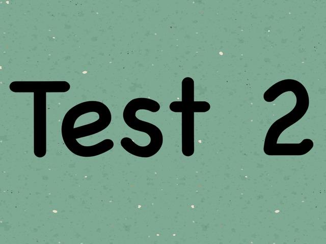2017 Pre-P.1 Test 2 by Sjs