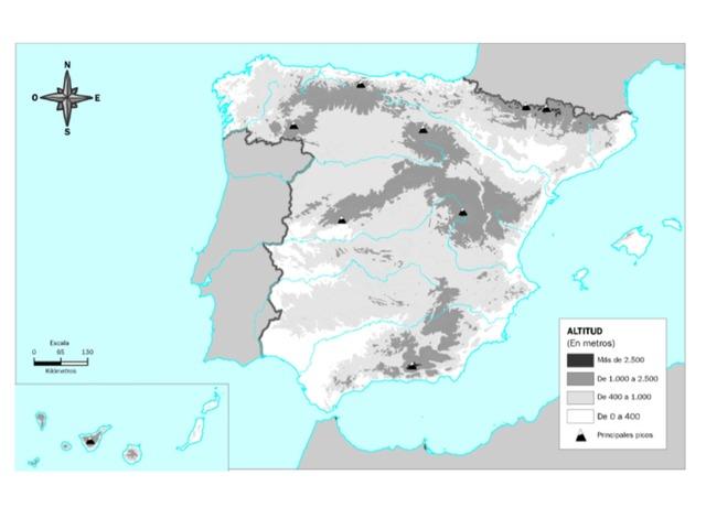 Relieve De España by Alberto Puerto Perez