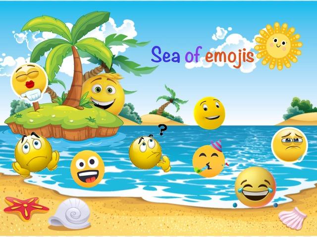 Sea Of Emojis by Basierah Muslimah