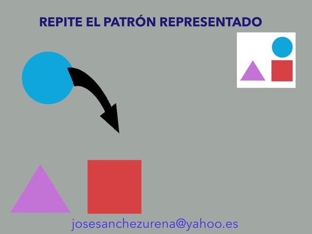Repite El Patrón. Figuras Geométricas. by Jose Sanchez Ureña