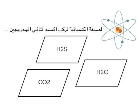 تسمية الجزيئات by همس الفجر