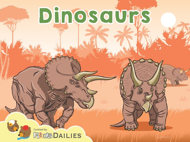 Dinosaurs by Kids Dailies