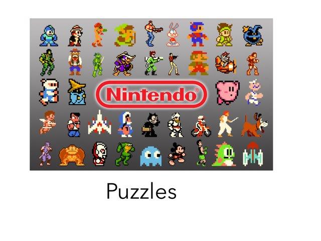 Nintendo Puzzles  by Jay Santiago