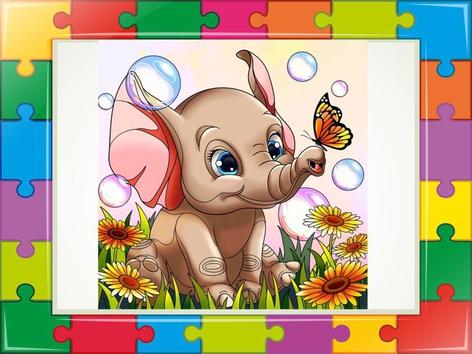Elephants Puzzle  by Liat Bitton-paz