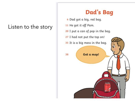 Dad's Bag by Laura Simpson