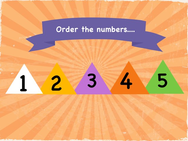 Numbers 1 to 5 by Marwa Abdulmonem
