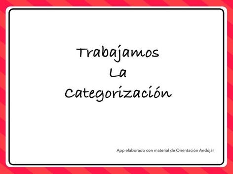 Trabajamos La Categorización  by Zoila Masaveu