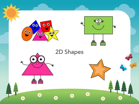 Simple 2D Shape Game by Katie McCaskey