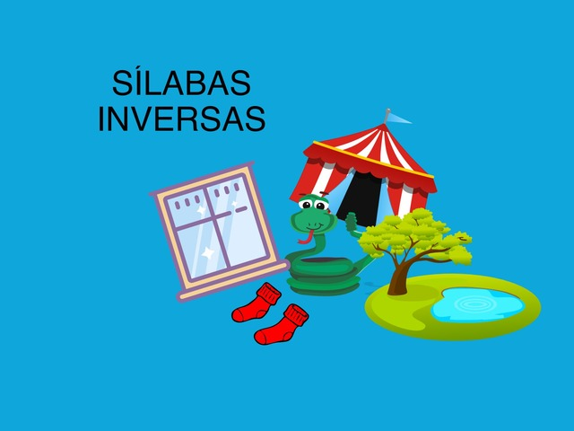 Sílabas inversas by Francisca Sánchez Martínez