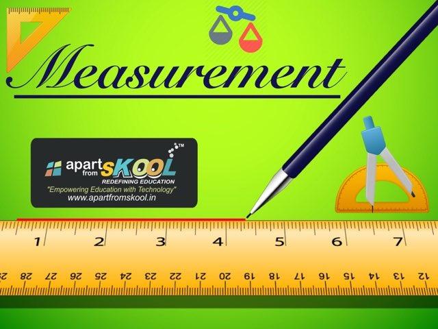 Measurement by TinyTap creator