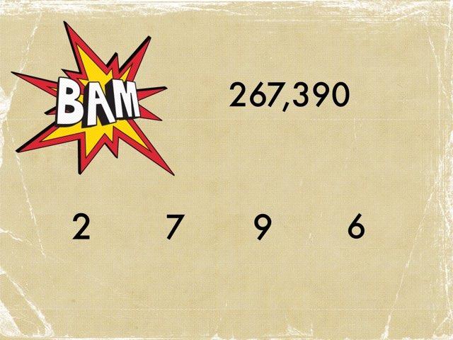 Numerals And Digits! by Jamie Speakman